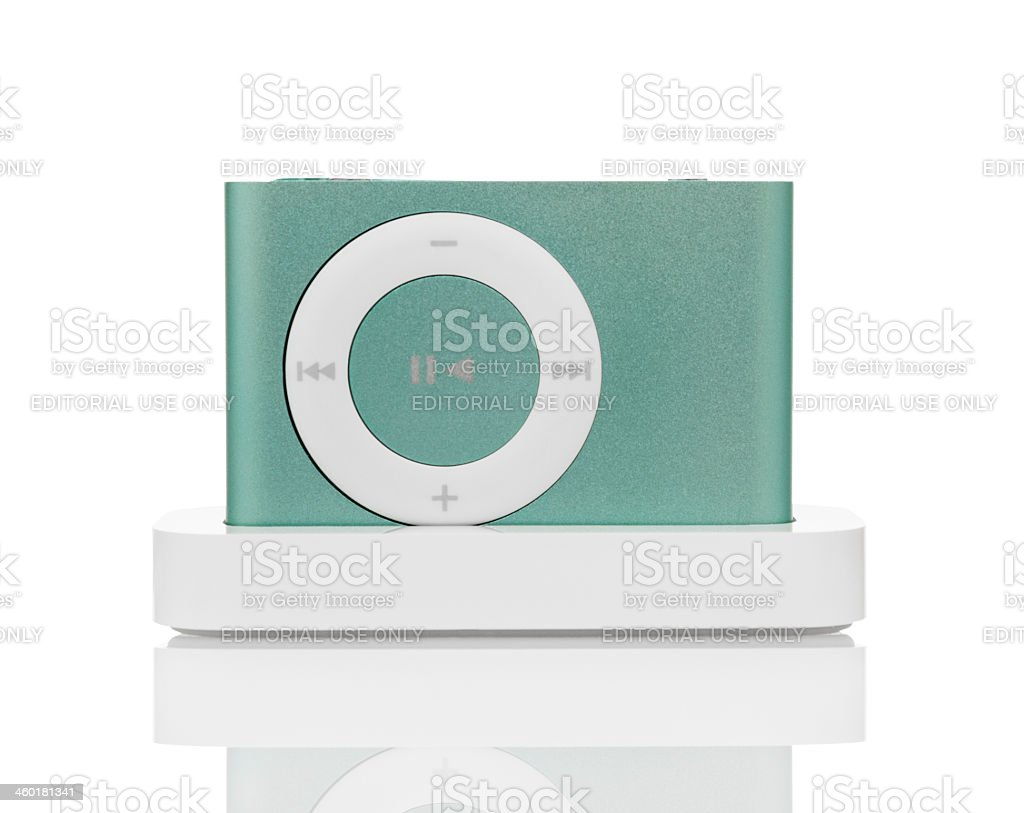 iPod Shuffle stock photo