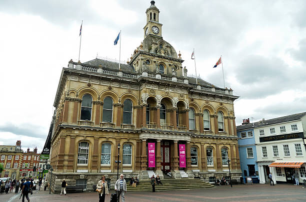 ipswich corn exchange - ipswich town stock-fotos und bilder