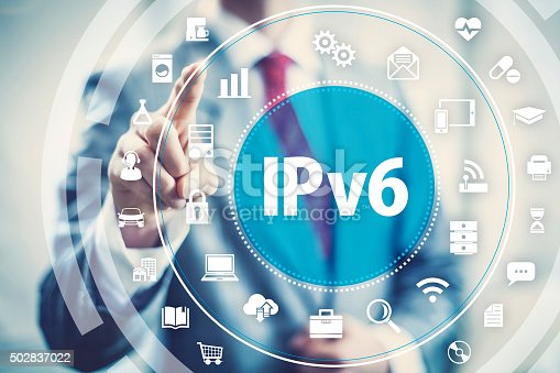 istock IPv6 new internet protocol 502837022