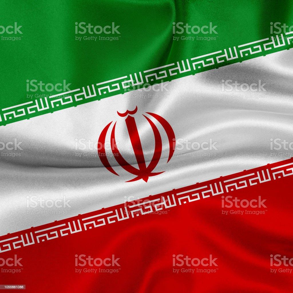 Iran nouvelle main table ou waving drapeau
