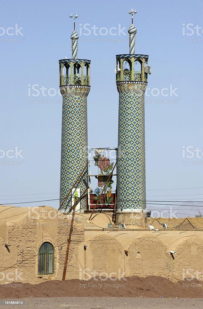 Iran mosque royalty-free stock photo