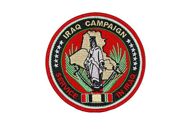 Iraq Campaign Patch stock photo