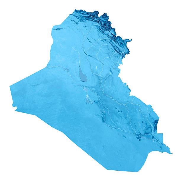 Royalty Free Iraq Topographic Map Pictures Images And Stock Photos