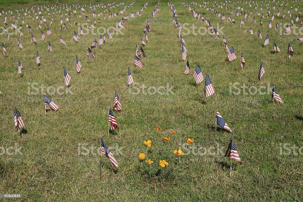 Iraq War Death Toll royalty-free stock photo