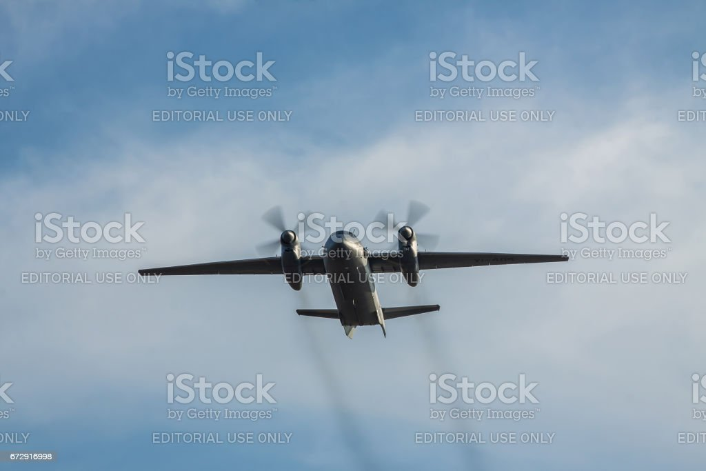 Iraqi Air Force An-32 cargo plane stock photo