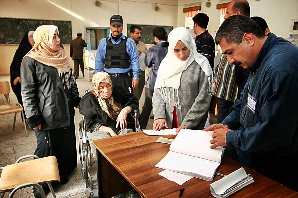 Irakien élections générales - Photo
