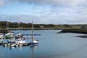 This is a picture of Ardglass marina in County Down, Northern Ireland