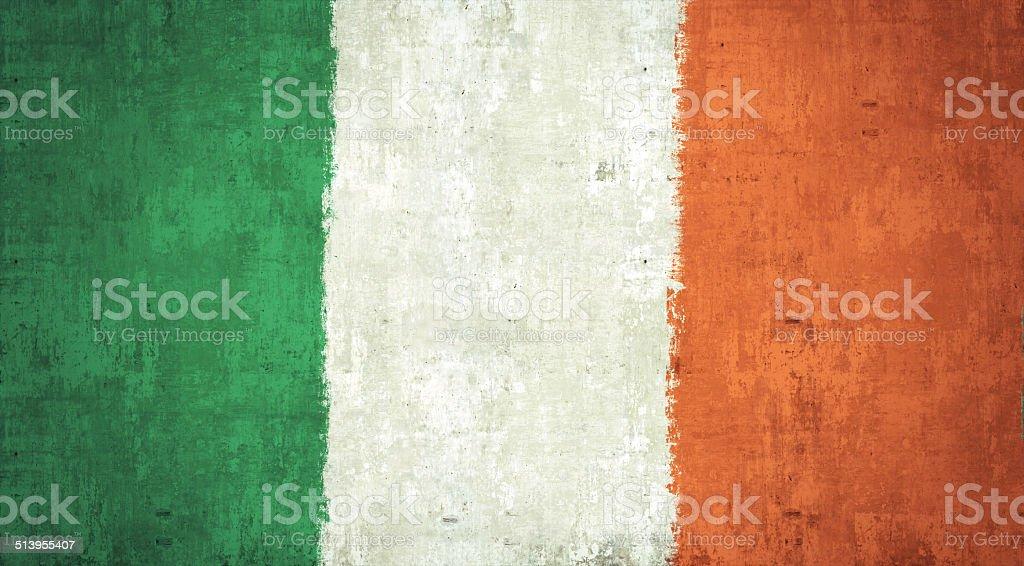Ireland Flag stock photo