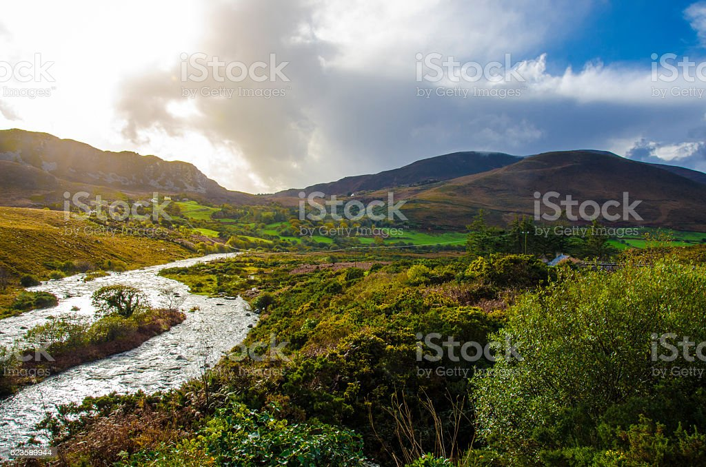 Ireland landscape stock photo