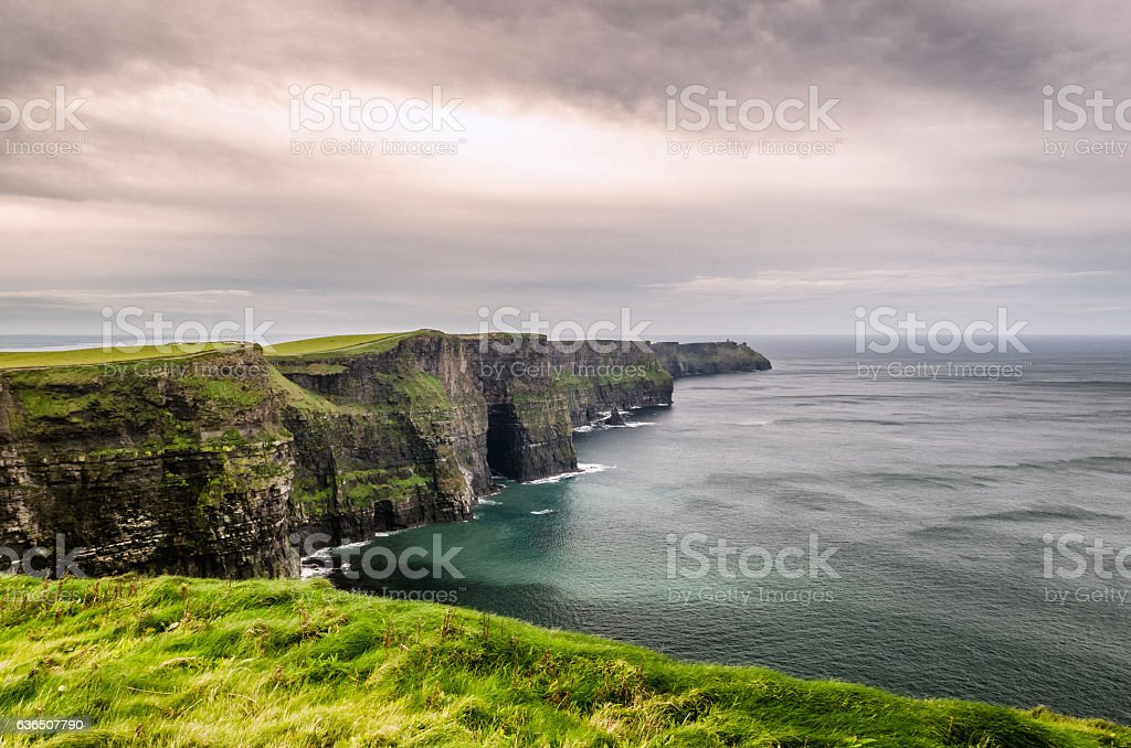 Ireland's Cliffs of Moher stock photo