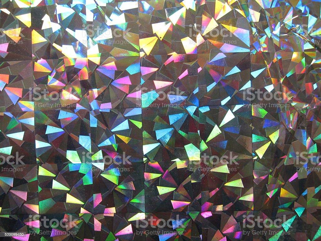 iridescent paper stock photo
