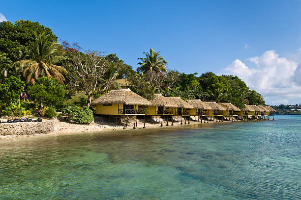 Iririki Island en Vanuatu - foto de stock
