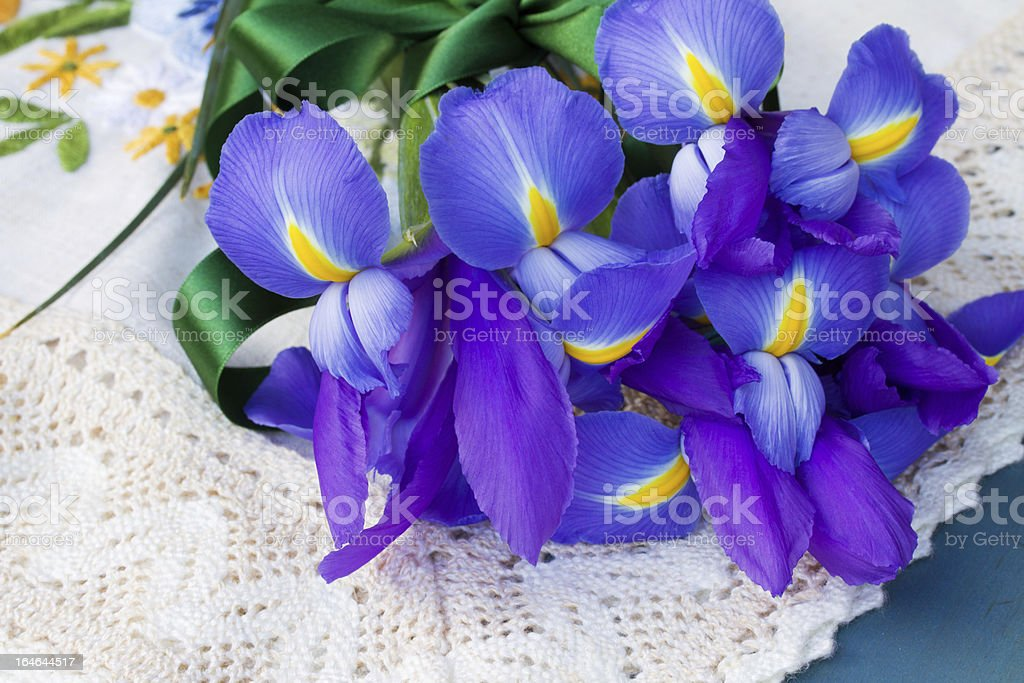 iris flowers royalty-free stock photo