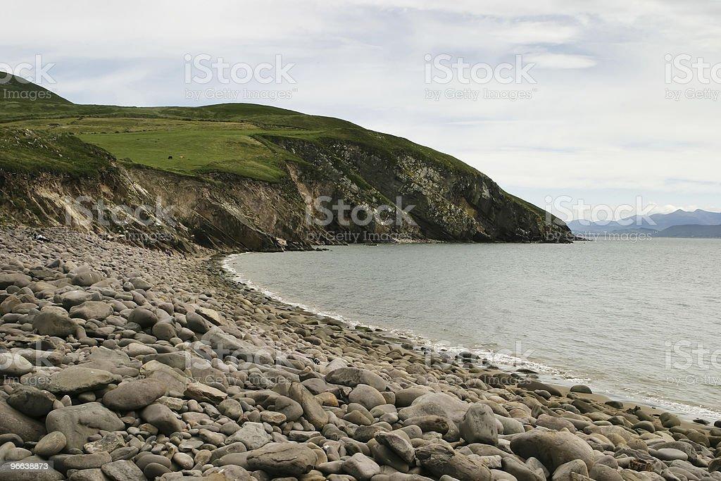 Irish Beach Seaside stock photo