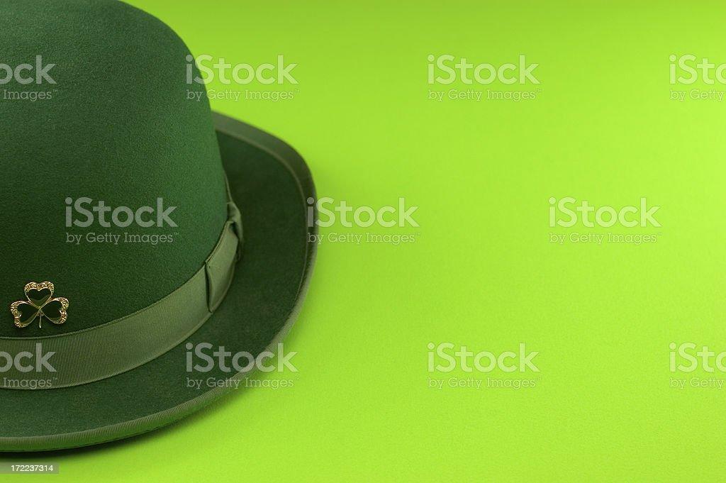 Irish Bowler Hat - St. Patty's Day stock photo