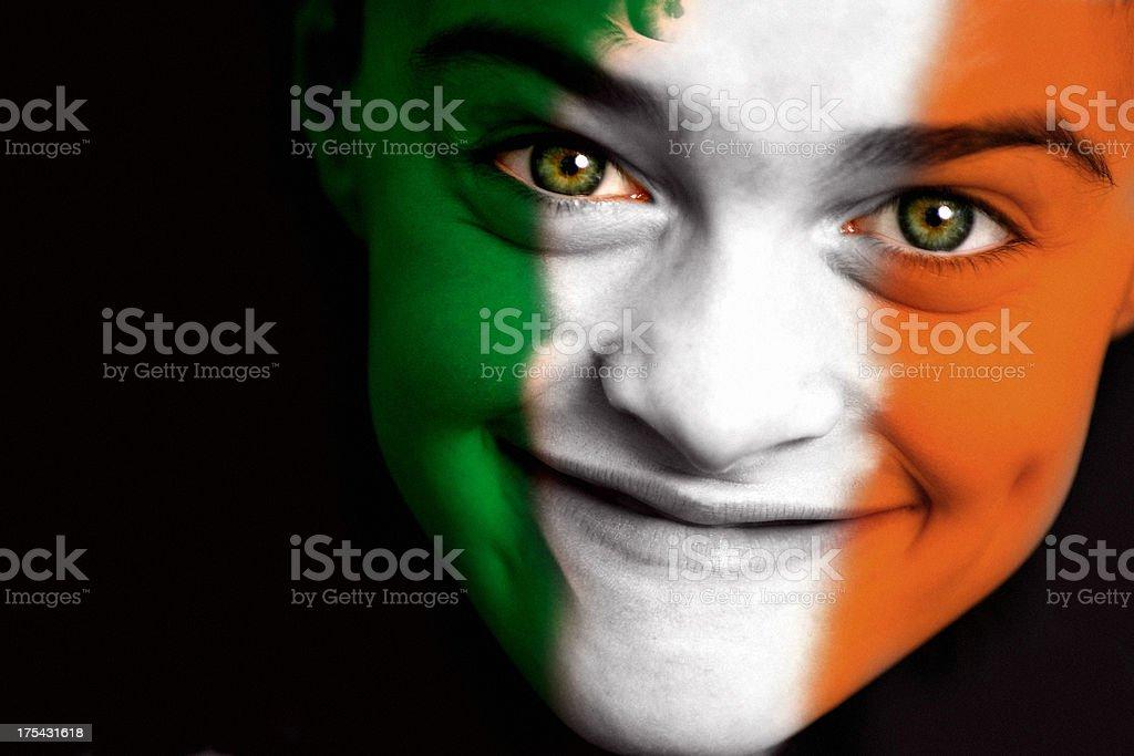 Irish boy royalty-free stock photo
