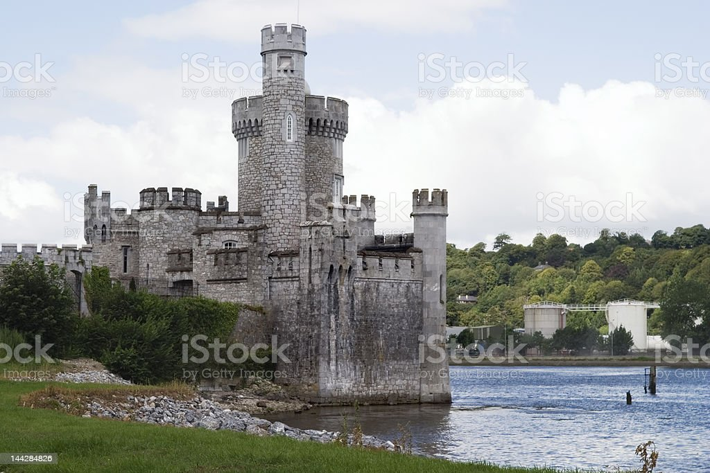 Irish Castle (Blackrock) Cork, Ireland stock photo
