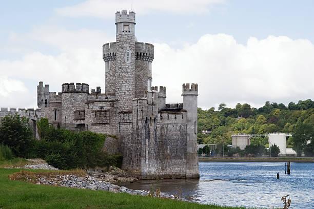 Irish Castle (Blackrock) Cork, Ireland stock photo