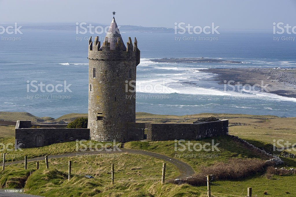 Irish Castle. stock photo