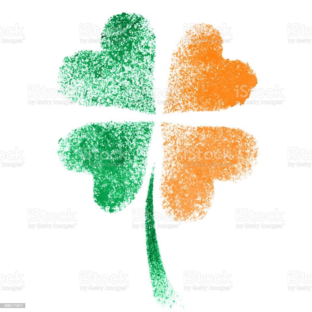 irish clover ireland flag stock vector art 638171672 istock