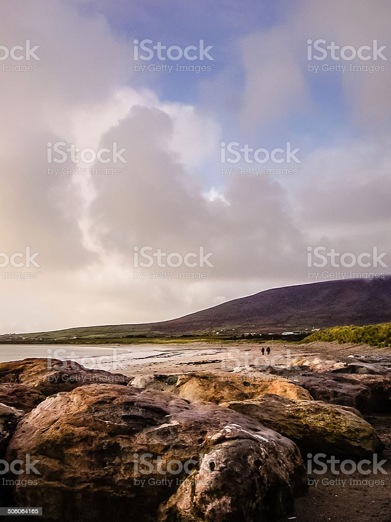 Irish Coast royalty-free stock photo