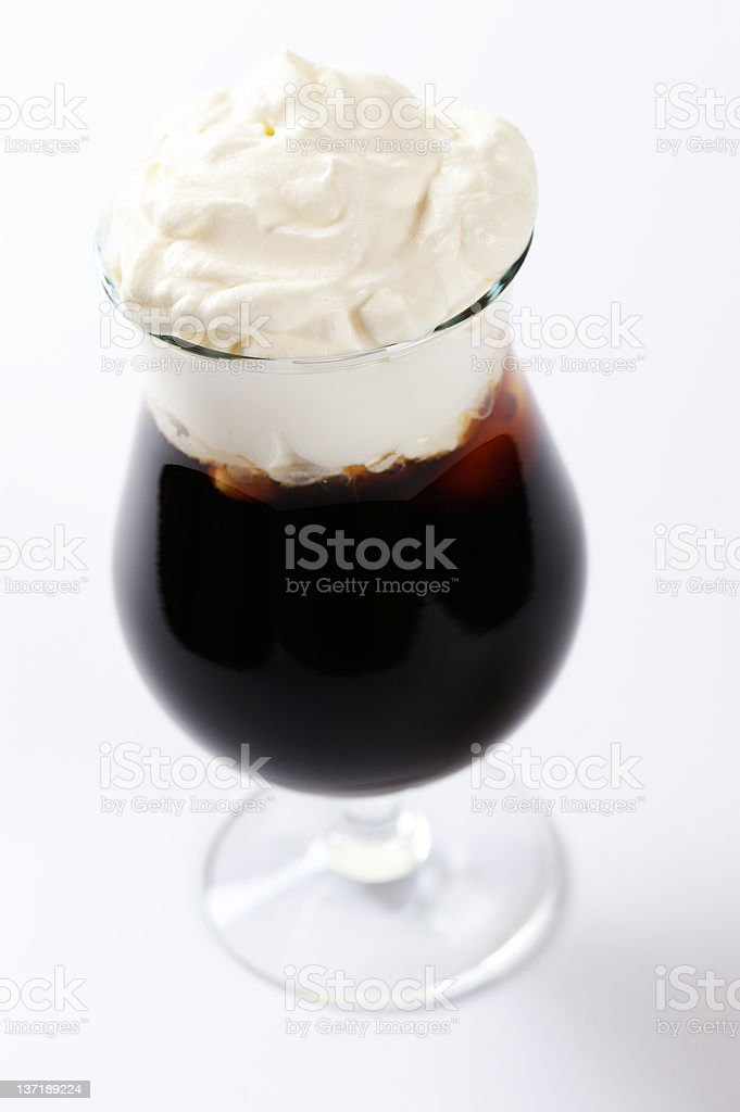Irish Coffee royalty-free stock photo