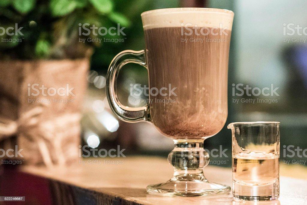 Irish Coffee stock photo