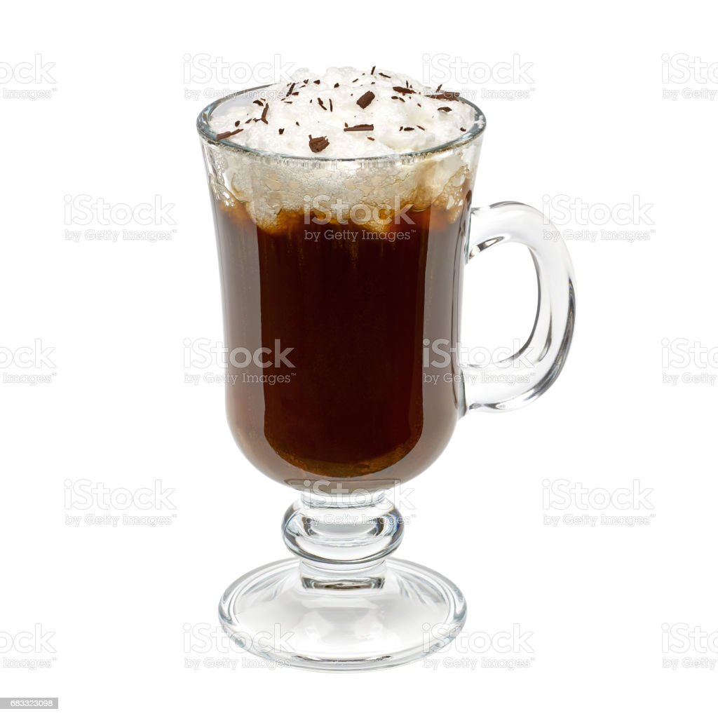 Irish coffee royalty free stockfoto