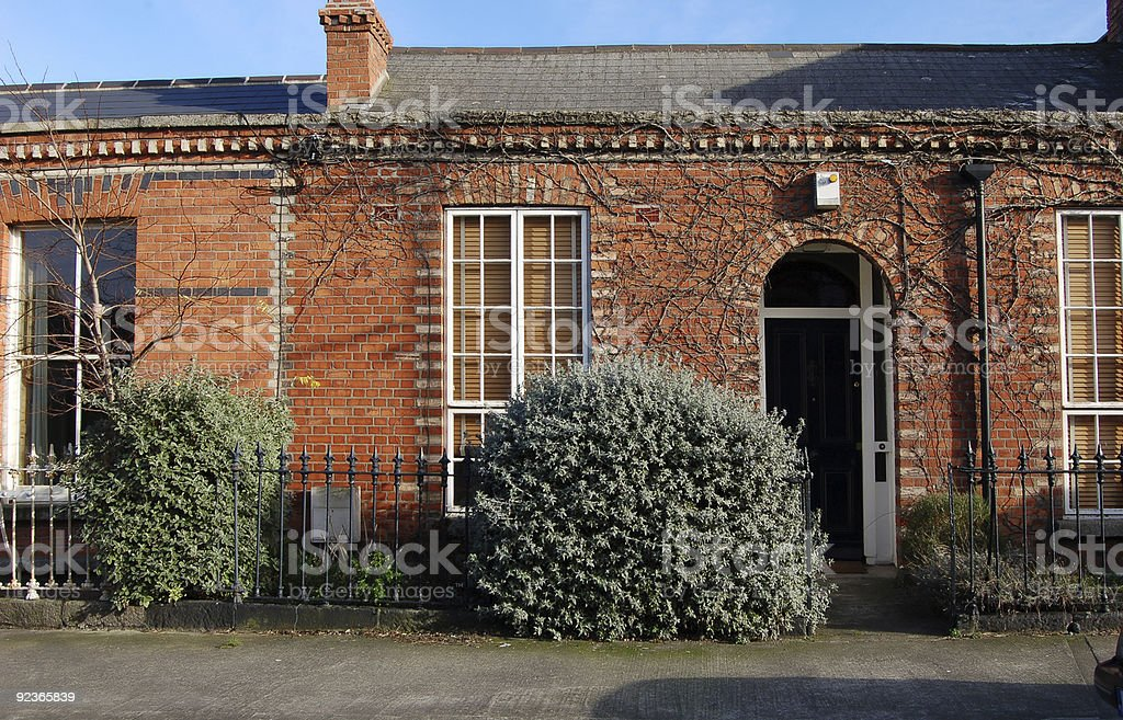 Irish cottages royalty-free stock photo