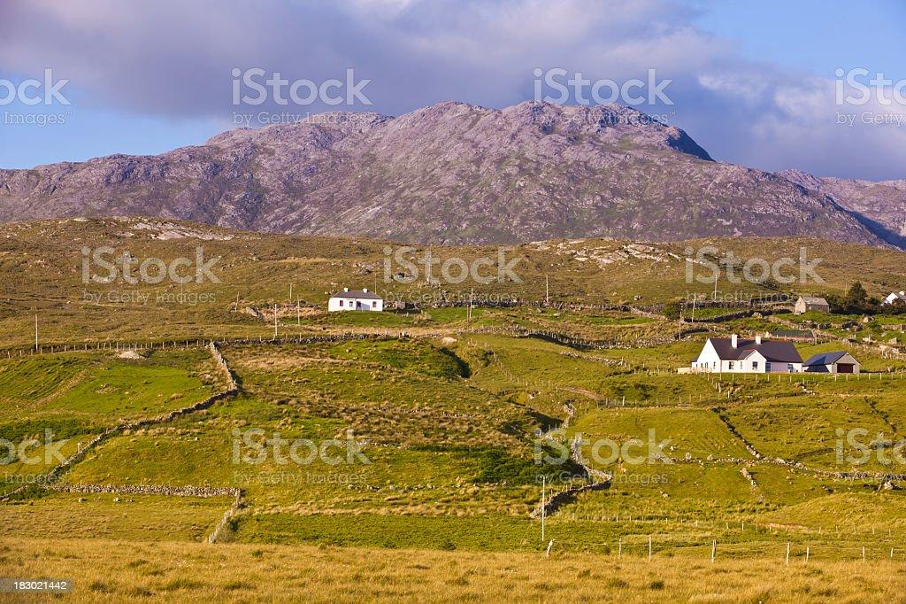 Irish country side royalty-free stock photo