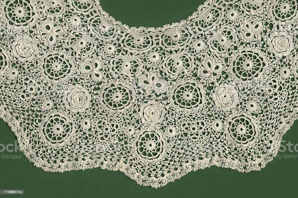 Irish crochet royalty-free stock photo