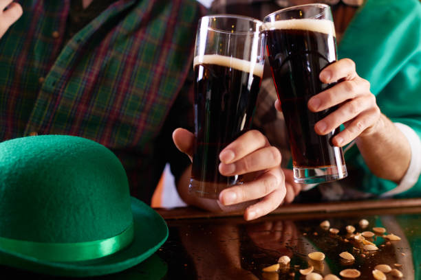 irish culture - st patricks day food stock photos and pictures