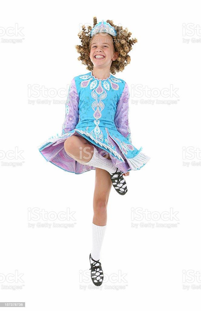 Irish Dancer royalty-free stock photo