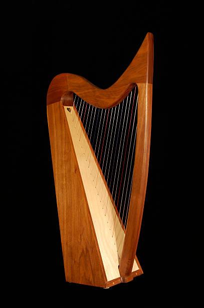 Irish Harp stock photo