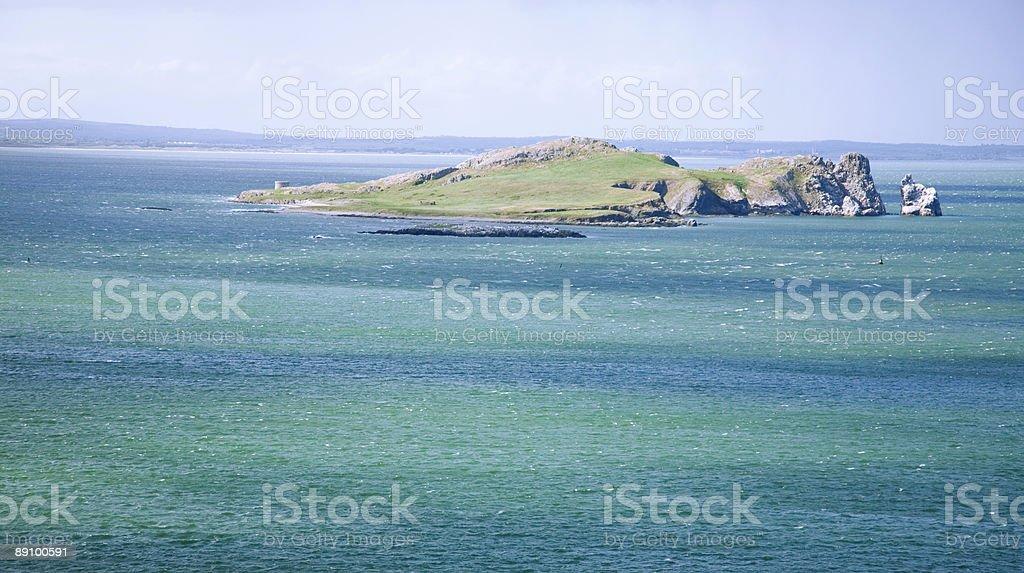 Irish Island royalty-free stock photo
