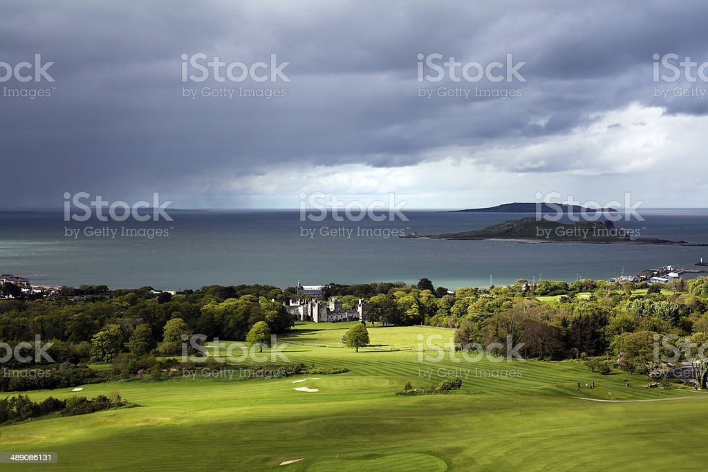 Irish Landscape - Howth, Dublin, Ireland stock photo