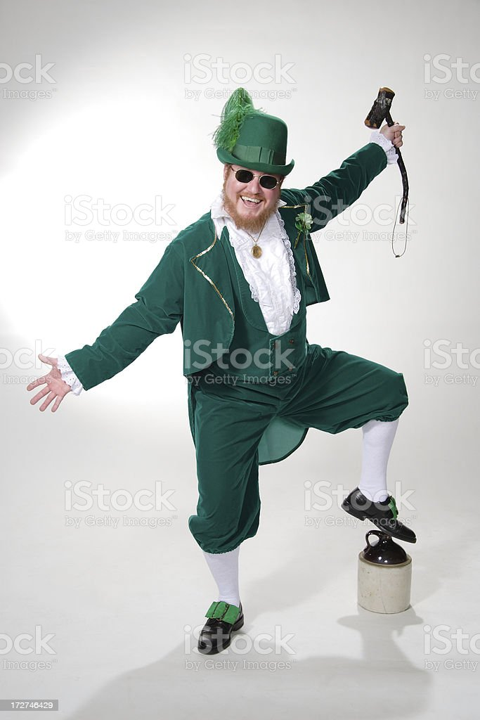 Irish Leprechaun royalty-free stock photo