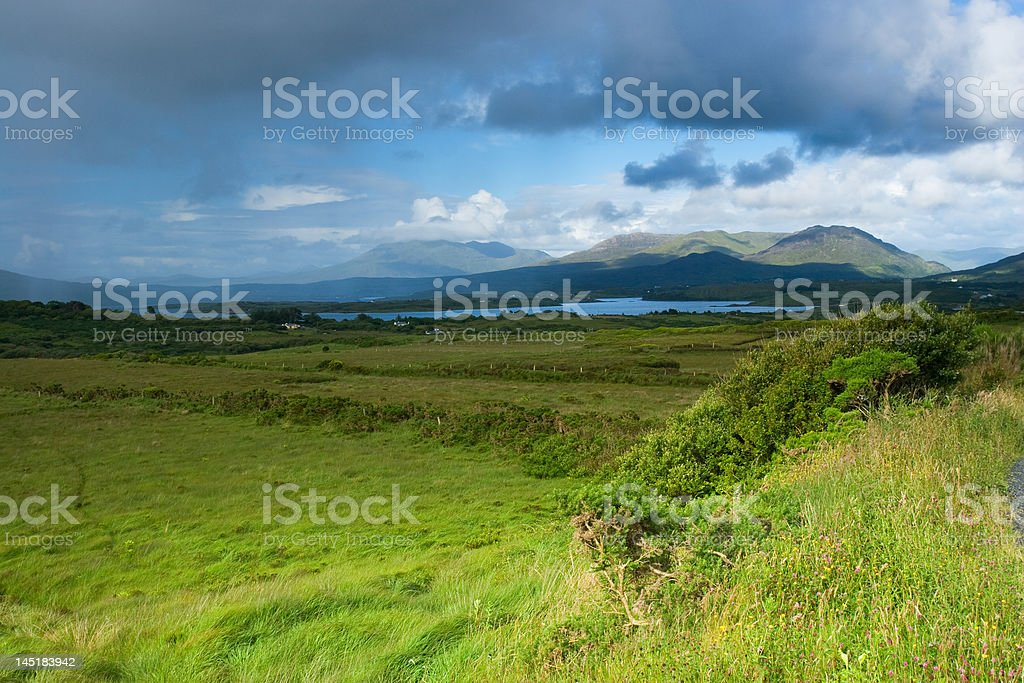 Irish Mountains royalty-free stock photo