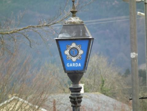Irish Police Sign