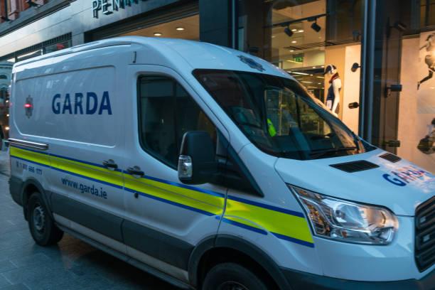 Irish Police vehicle