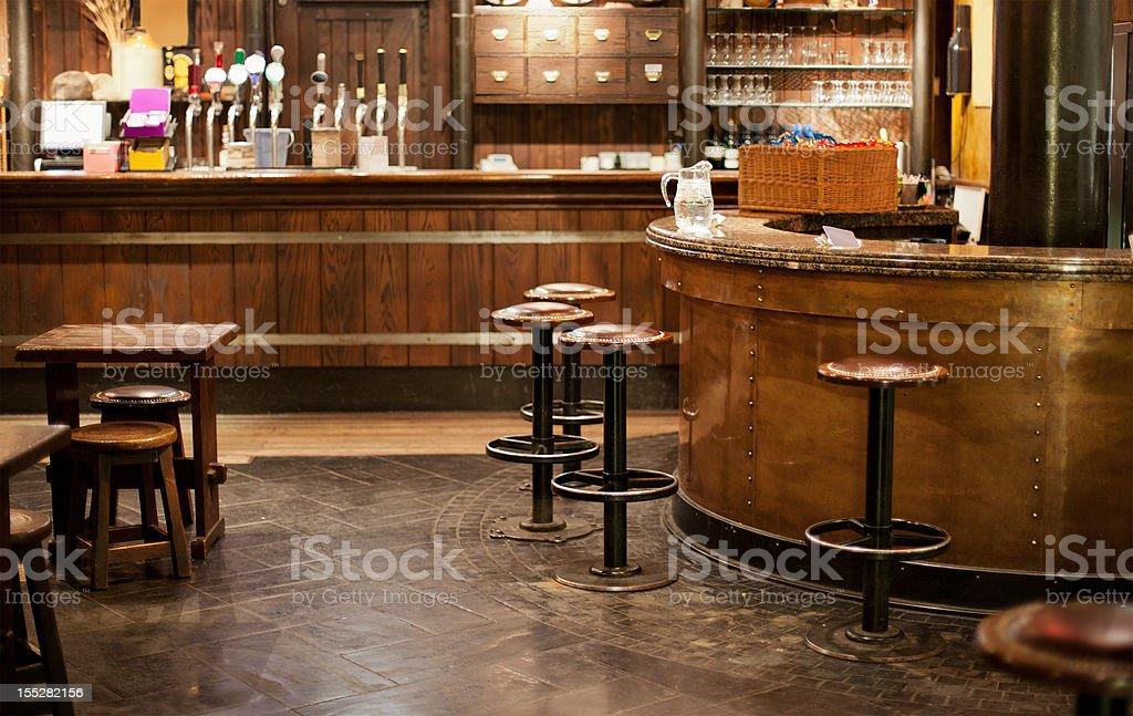 Irish pub stock photo