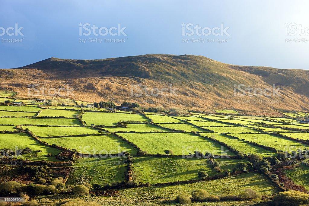 Irish scenics stock photo