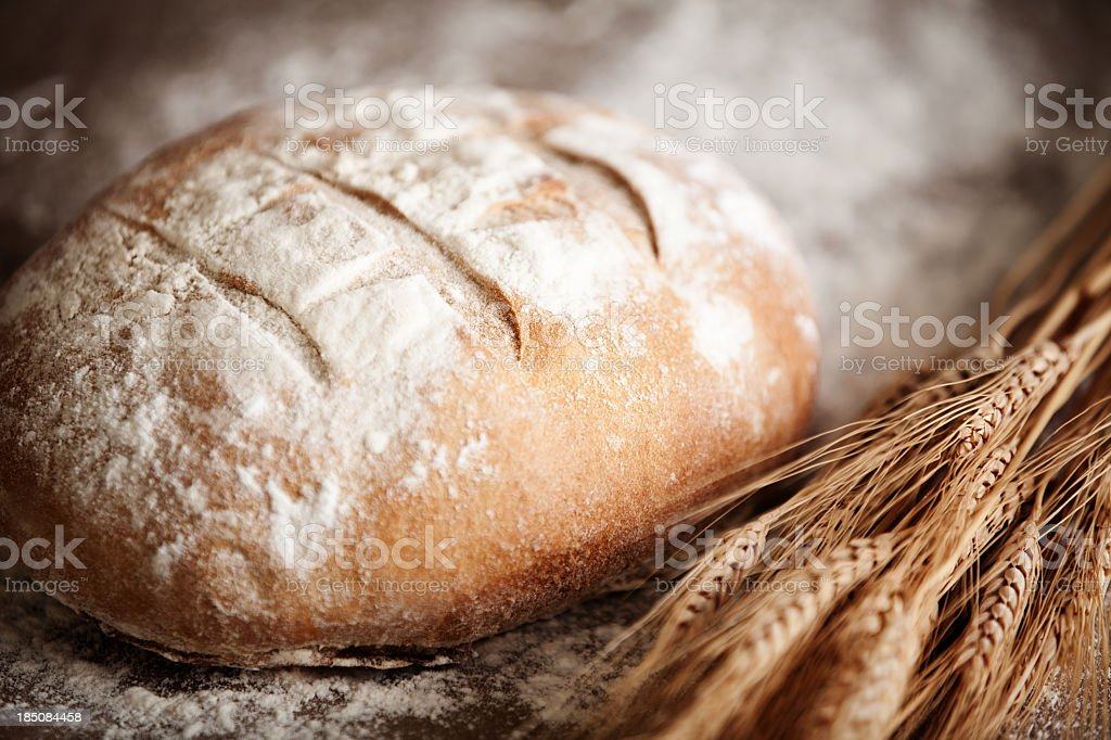 Irish Soda Bread stock photo
