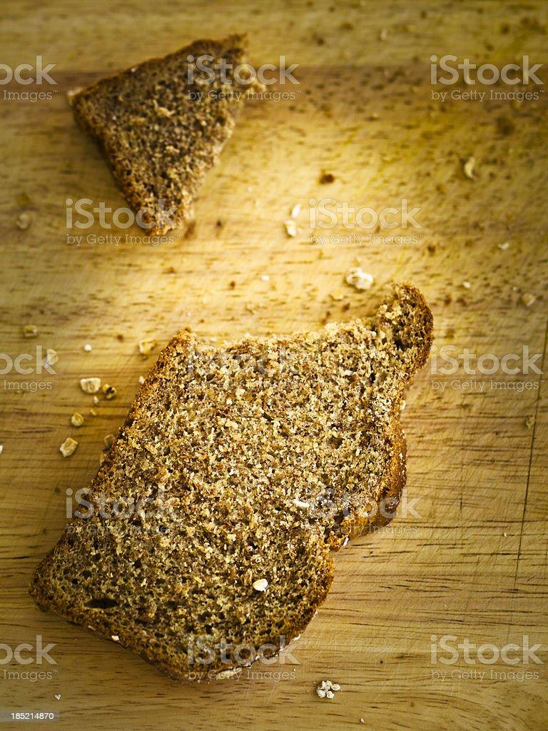 Irish stoneground wheaten stock photo