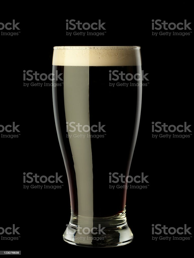 Irish Stout stock photo