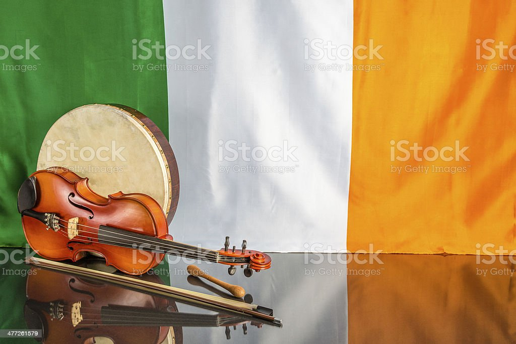 Irish Theme stock photo