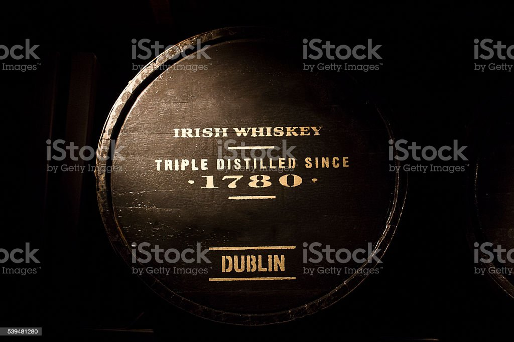 Irish Whiskey stock photo