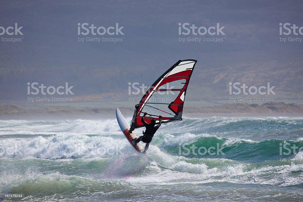 irischer windsurfer – Foto
