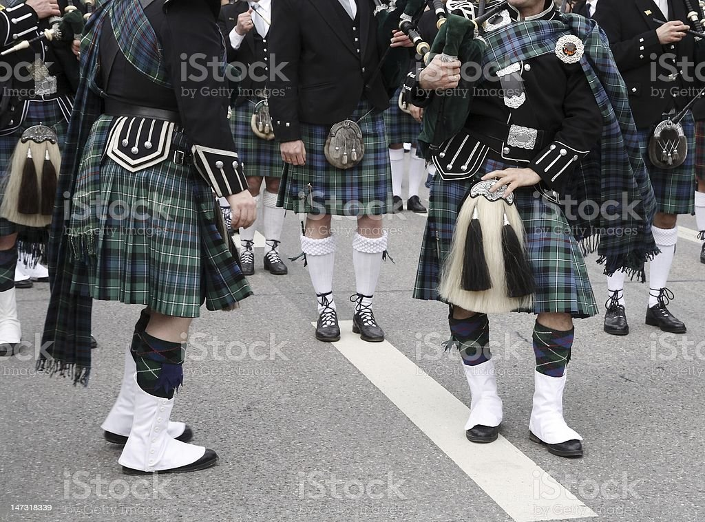 Irishmen stock photo