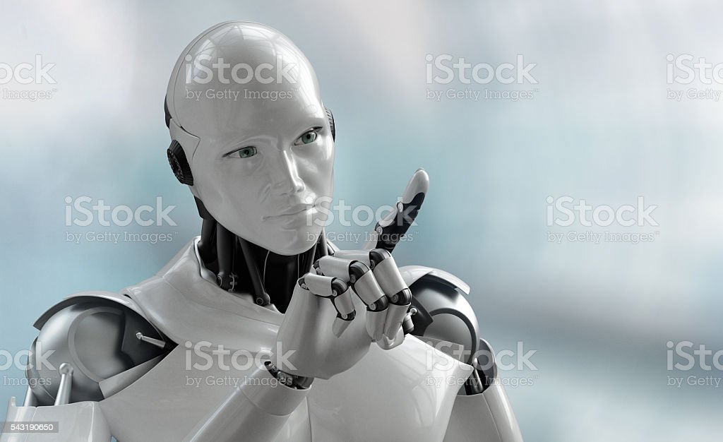 irobot touch royalty-free stock photo